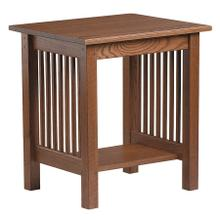 View Product - Mission End Table