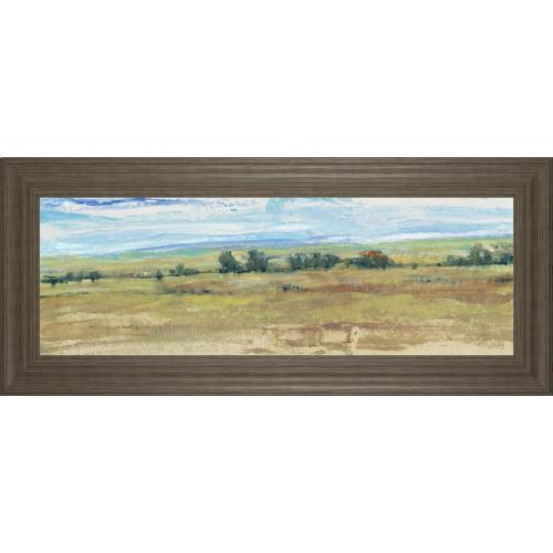 "Classy Art - ""Distant Treeline Panel I"" By Tim Otoole Framed Print Wall Art"