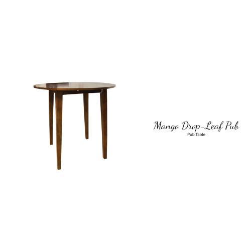 "Mango Counter Height Chair 17""L X 19""D X 41""H"