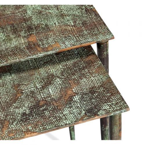 Aria Nesting Tables - Verdigiris