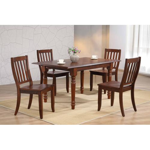 School House Dining Chair - Chestnut (Set of 2)