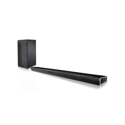 LG SLM3D 2.1 Channel 300W Sound Bar with Wireless Subwoofer and Bluetooth® Connectivity