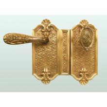 Rim Lock Louis XIV Style