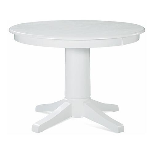 42'' Round pedestal table