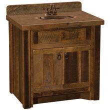 Vanity Base - 30-inch - Sink Center