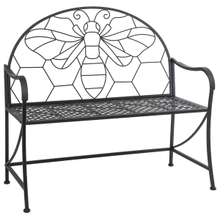 See Details - Black Bee Bench