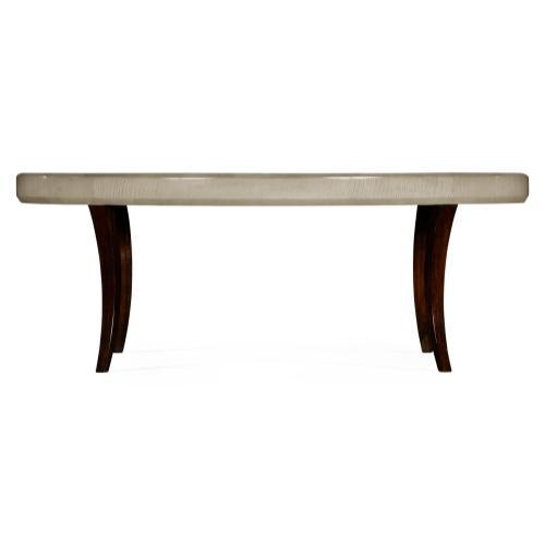 Art Deco Oval Coffee Table