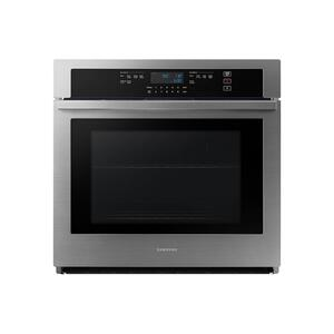 "Samsung Appliances30"" Single Wall Oven with Wi-Fi in Stainless Steel"