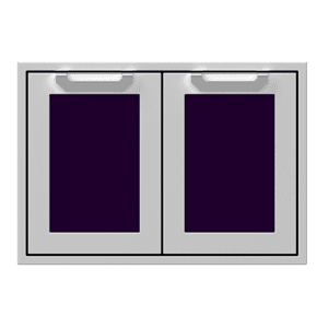 "30"" Hestan Outdoor Double Storage Doors - AGSD Series - Lush"