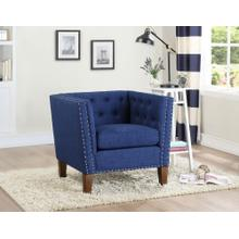 Campbell Accent Chair - Blue