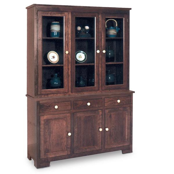 """See Details - Shaker Closed Hutch, 61 """", 19"""" Base"""