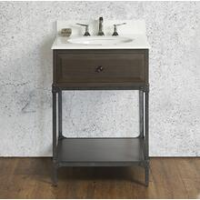 """See Details - Toledo 24"""" Open Shelf Vanity"""