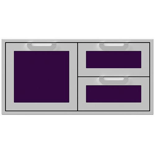 """Hestan - 42"""" Hestan Outdoor Combo Door/Drawer - AGSDR Series - Lush"""