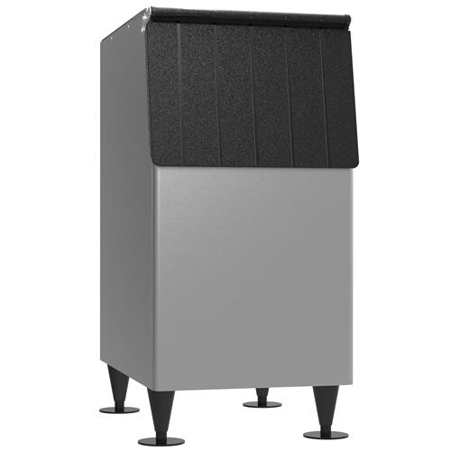 "B-300PF, 22"" W Ice Storage Bin with 300 lbs Capacity - Vinyl-Clad Exterior"