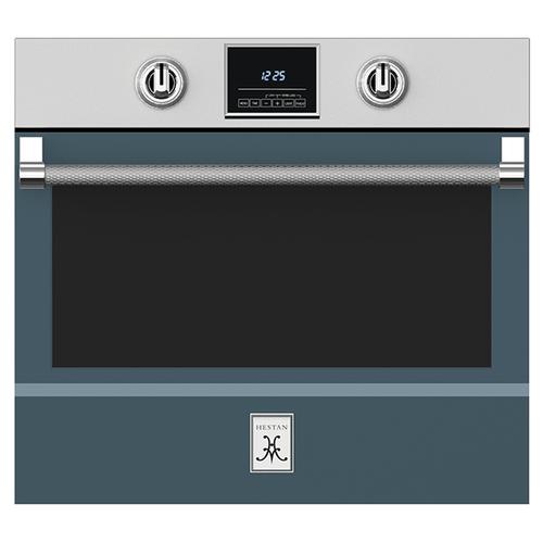 "Hestan - 30"" Single Wall Oven - KSO Series - Pacific-fog"