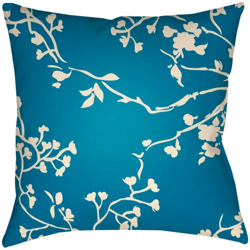 """Chinoiserie Floral CF-010 18""""H x 18""""W"""