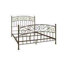 See Details - Metal Bed In Dark Bronze Finish