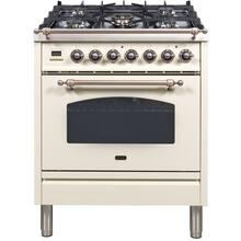 "30"" Inch Antique White Liquid Propane Freestanding Range"