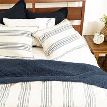 See Details - Prescott Comforter Set, Navy - Super King