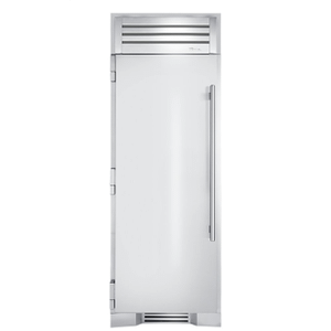 True Residential30 Inch Solid Stainless Door Left Hinge Refrigerator Column