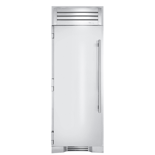30 Inch Solid Stainless Door Left Hinge Refrigerator Column