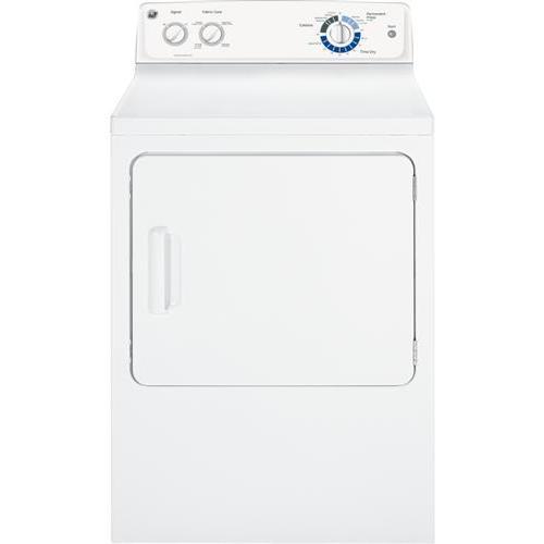 GE Appliances - GE® 7.0 cu. ft. capacity Dura Drum electric dryer