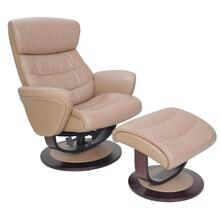 View Product - Tetra 15-8018 Pedestal Chair and Ottoman