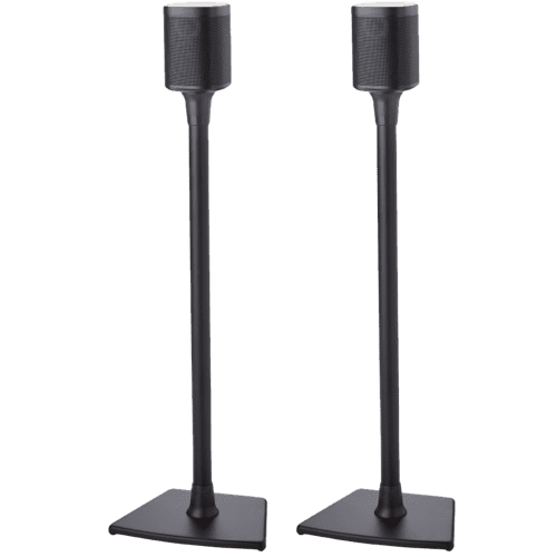 Black- Sanus Floor Stand (Pair)