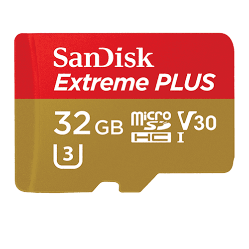 SanDisk Extreme Plus 32GB Micro SD Card