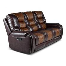 See Details - Park Avenue Triple Power Sofa, Brown