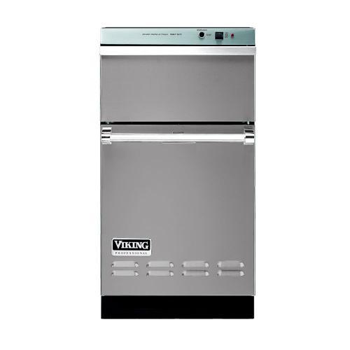 "Viking - Metallic Silver 18"" Wide Trash Compactor - VUC"
