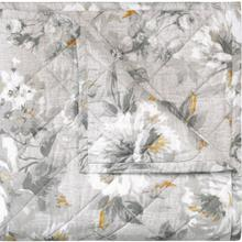 Retired Moonlit Quilt and Shams, PEWTER, KING