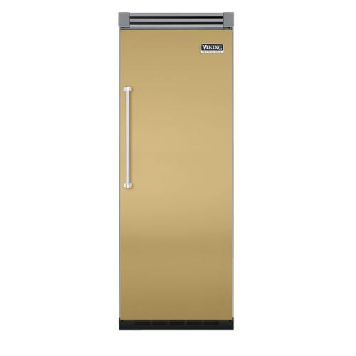 """Viking - Golden Mist 30"""" Quiet Cool™ All Refrigerator - VIRB Tru-Flush™ (Right Hinge Door)"""