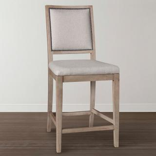 Custom Dining Square X-Back Uph Bar Stool