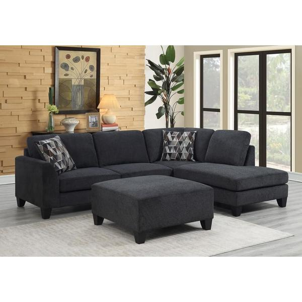 See Details - Ponderay Sectional with Ottoman, U4607