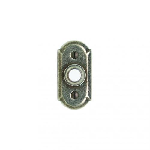 Arched Doorbell Button Silicon Bronze Brushed
