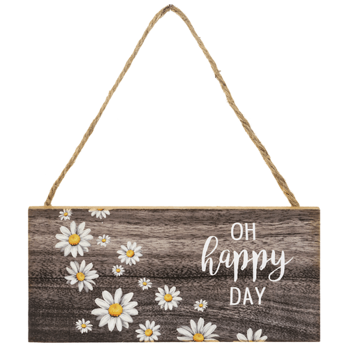 Happy as a Daisy Signs in a Crate (12 pc. ppk.)