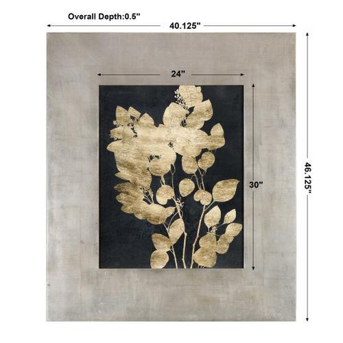 Custom Postage Leaves Framed Print