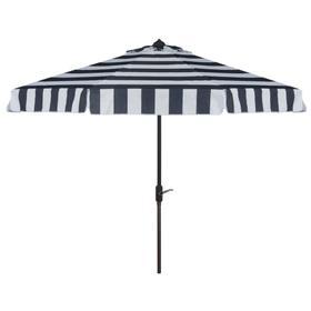 Elsa Fashion Line 9ft Umbrella - Navy / White