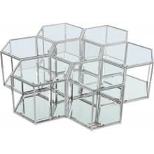 "Sei Modular 7 Piece Coffee Table - 60"" W x 58"" D x 16.5"" H"