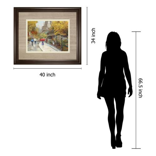"""Gallery - """"Amant De Marche"""" By Allison Pearce Framed Print Wall Art"""