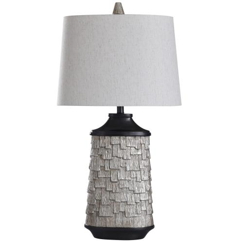 Hala  33in Transitional Cast Table Lamp  60 Watts  On-Off Switch