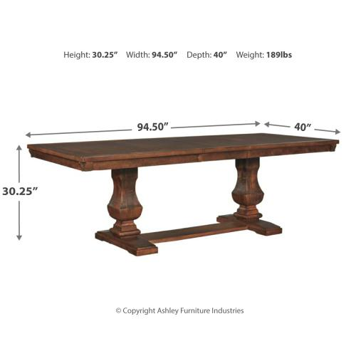 Windville Dining Room Extension Table