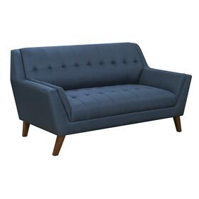 Binetti Loveseat, Navy Peacock U3216-01-04