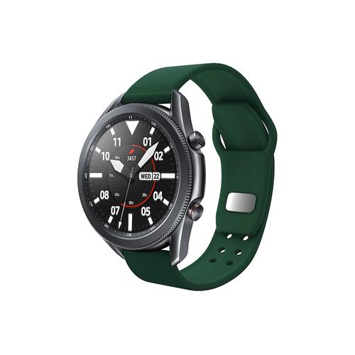 Quick Change Silicone Sport Watch Band (22mm) Green