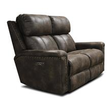 E1C03HN Double Reclining Loveseat with Nails