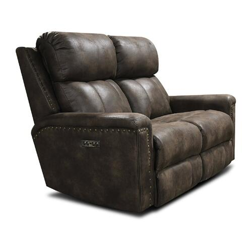 1C03HN EZ1C00H Double Reclining Loveseat with Nails
