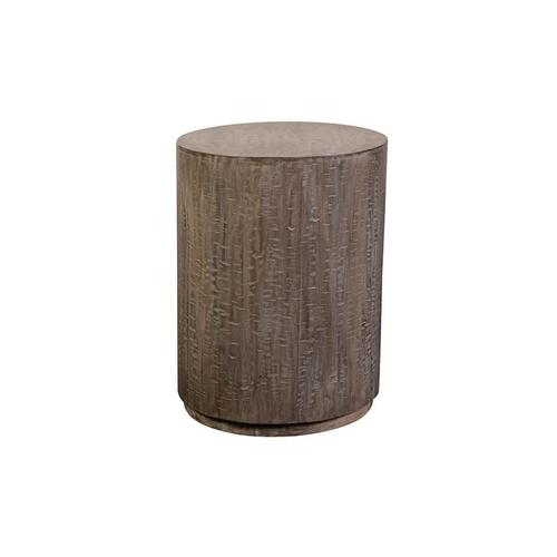 Drum Side Table, 7002