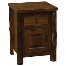 See Details - Enclosed Nightstand - Modern Cedar