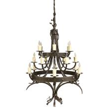 See Details - Enchanted Forest Iron Chandelier